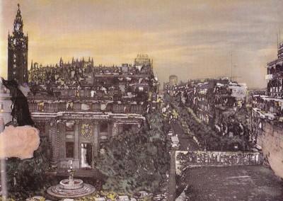 Sevilla al anochecer, Sevilla 1989