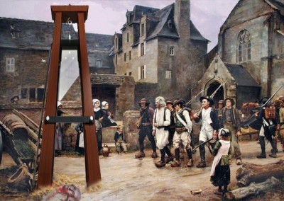 Lavoisier olvidado por Jules Girardet