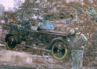 Autorretrato con Studebaker