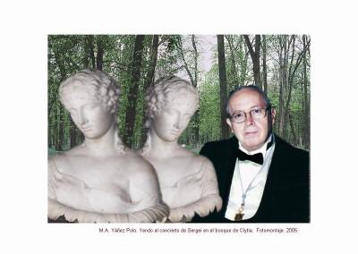 Yendo al concierto de Sergei en el bosque de Clytia