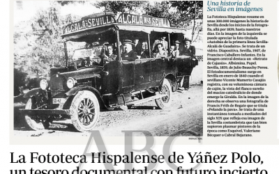 15 de abril de 2012: La Fototeca Hispalense, un tesoro documenta con futuro incierto