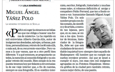 8 de julio de 2006: Yáñez Polo, la memoria fotográfica de Sevilla
