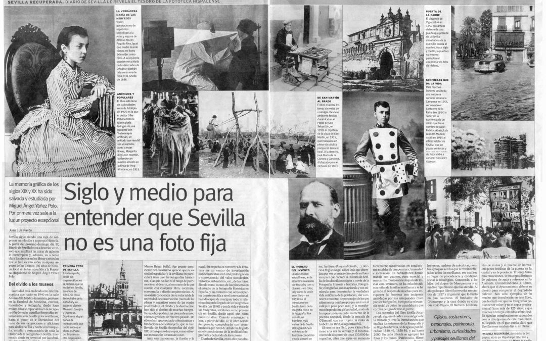 "10 de septiembre de 2000: Diario de Sevilla ""Sevilla Recuperada"""